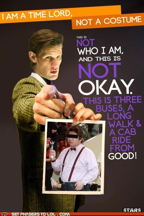 cosplay,costume,doctor who,Matt Smith,not okay,the doctor