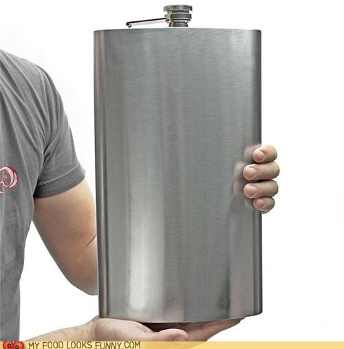 alcohol booze flask gallon huge