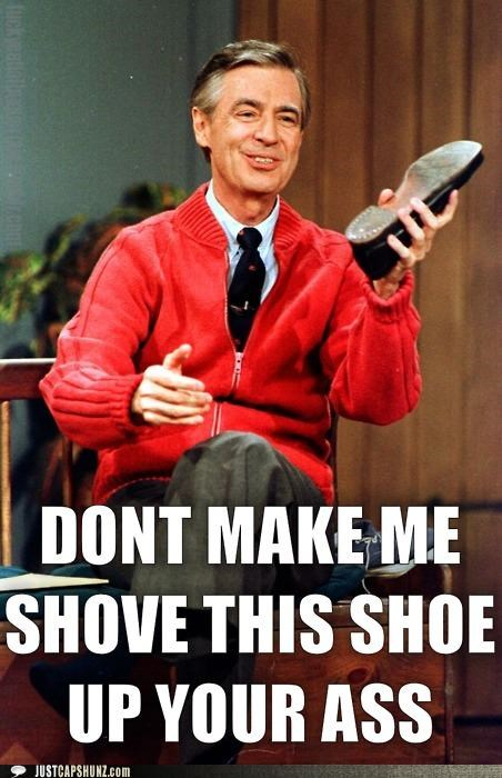 dont-make-me shoe threat threatening - 5368516864