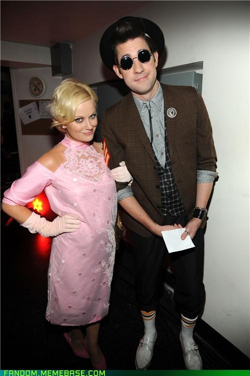 Amy Poehler halloween john kasinsky loving it Movie pretty in pink - 5368525568