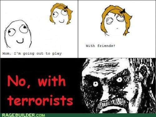 dumb,mom,Rage Comics,terrorists