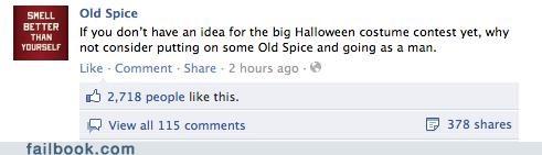 costume halloween old spice win witty status - 5368604928