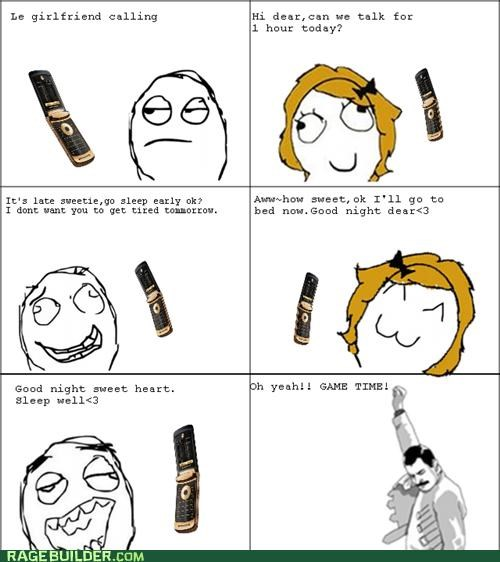 FAIL game time Rage Comics relationships - 5368614912