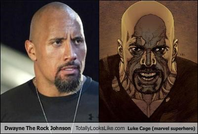 Dwayne Johnson,funny,Luke Cage,the rock,TLL