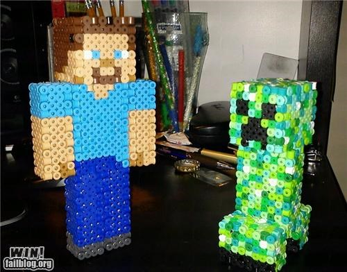 bead custom DIY minecraft nerdgasm video game - 5368715520