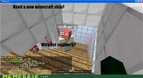 beta graphics guild wars minecraft skin video games Zoidberg - 5368787968