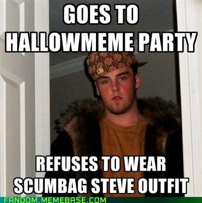 Blake Boston costume halloween Memes Party Scumbag Steve - 5369172992