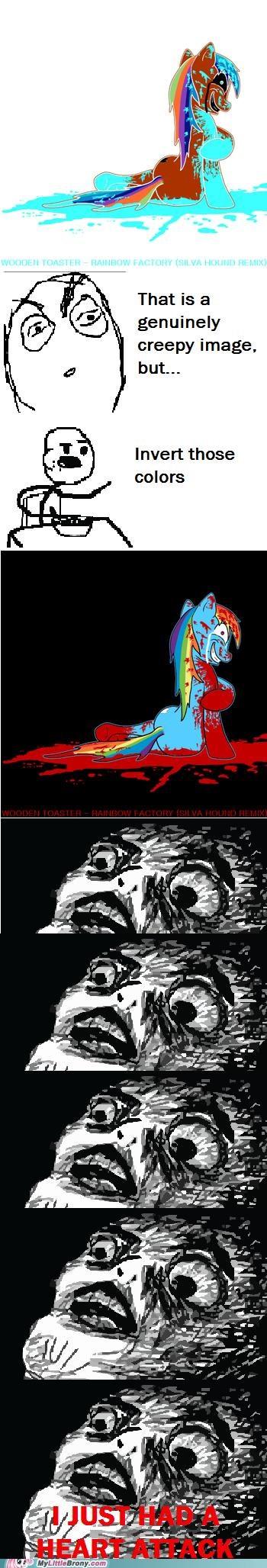 best of week comics creepy heart attack rainbow factory - 5370135040