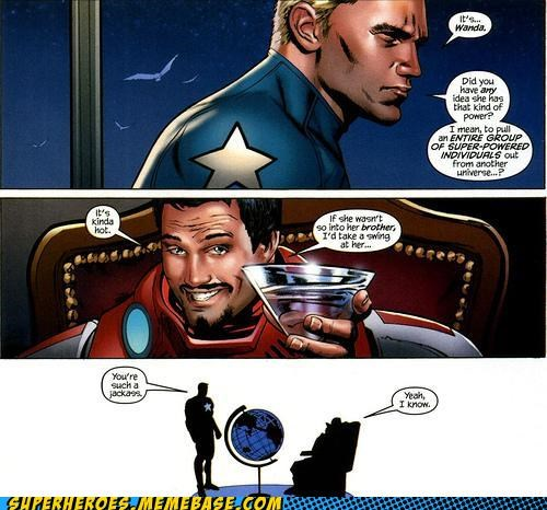best of week,captain america,iron man,power,Straight off the Page,tony stark,wanda