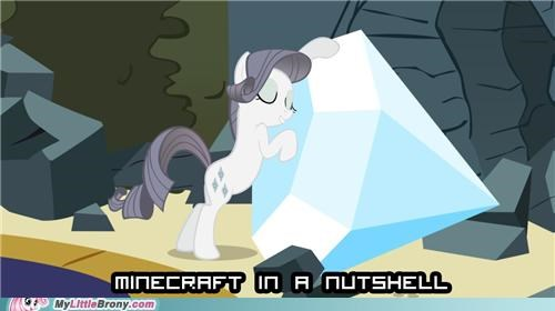 creepers minecraft nutshell ponies rarity - 5370428672