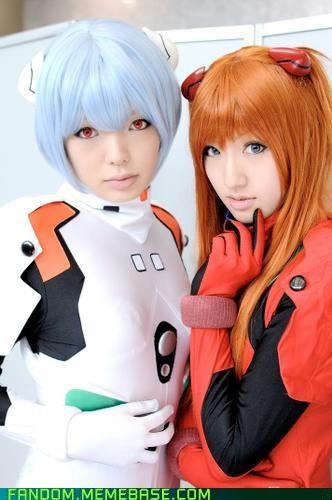 anime Asuka cosplay evangelion Rei - 5370700544