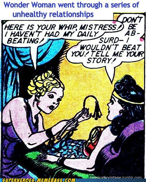 beating relationship Straight off the Page wonder woman wtf - 5370844416