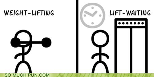 homophone homophones lift lolwut waiting weightlifting