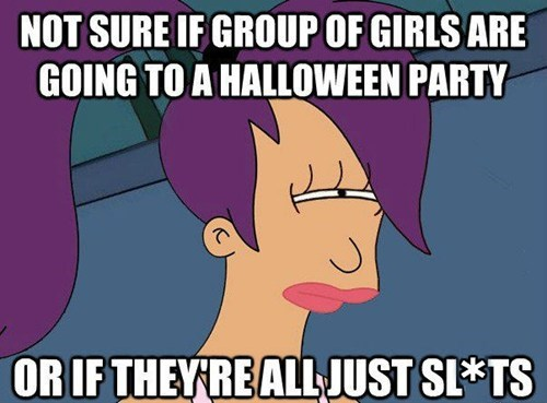 costume,girls,leela,hallowmeme,cartoons,Futurama Fry