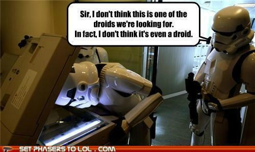 copier droids star wars storm-troopers-stupid these are not the droids - 5372432384