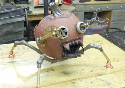 DIY pumpkins Steampunk steampunkins - 5372447744