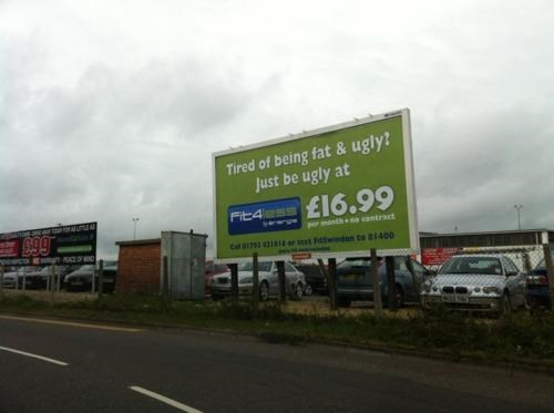Blunt Billboard,Marketing Campaign,Swindon