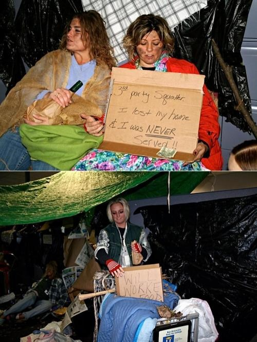 All Kinds Of Wrong Foreclosure Mill Homeless Halloween steven-j-baum - 5372856064
