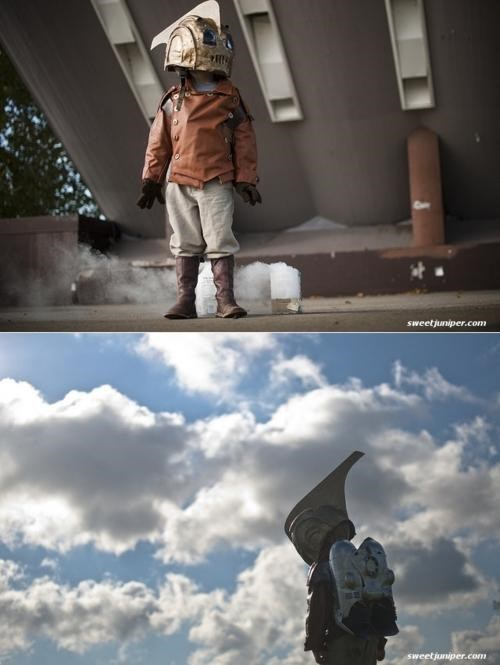 Cosplaying Kid,james-d-griffioen,Kid Rocketeer,Sweet Juniper
