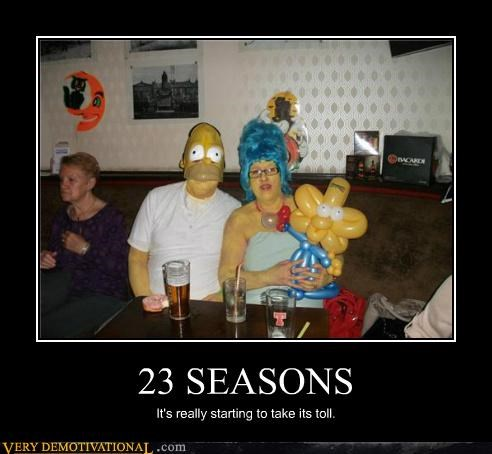 23 seasons hilarious homer simpson marge simpson simpsons - 5373069312