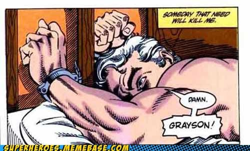 batman bruce wayne dick grayson needs robin Straight off the Page - 5373369344