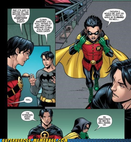 batman best of week damian wayne dick grayson red robin robin Straight off the Page tim drake - 5373372672