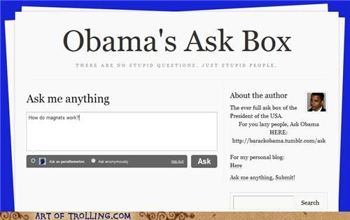 ask box,magnets,obama