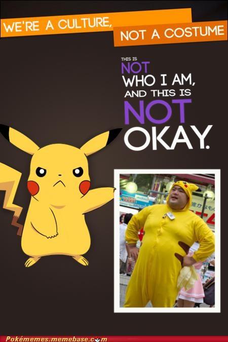 best of week halloween meme Memes not a costume pikachu quick attack - 5375120384