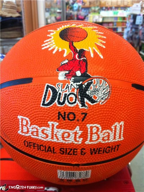 basketball,misspelled label,not the same