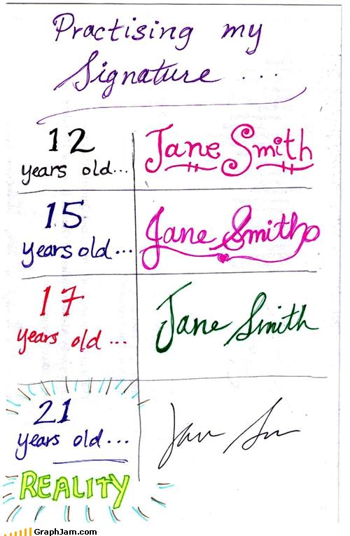 devolution penmanship school signature writing - 5375196416