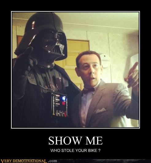 darth vader Pee-Wee Herman Pure Awesome star wars