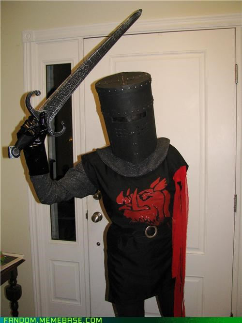 cosplay door monty python the black knight - 5376637184