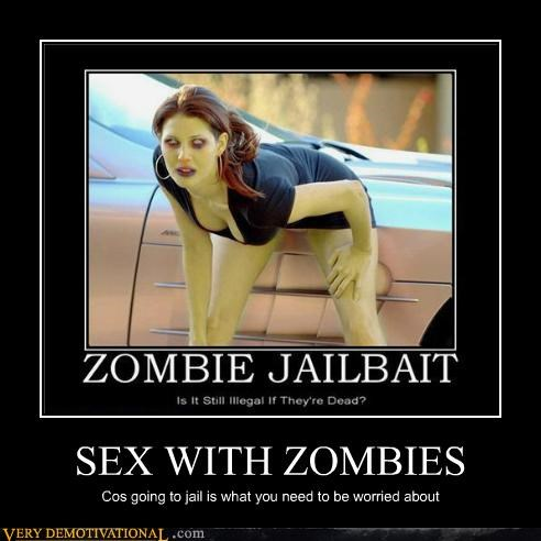 bad idea hilarious jail sexy times zombie - 5377431808