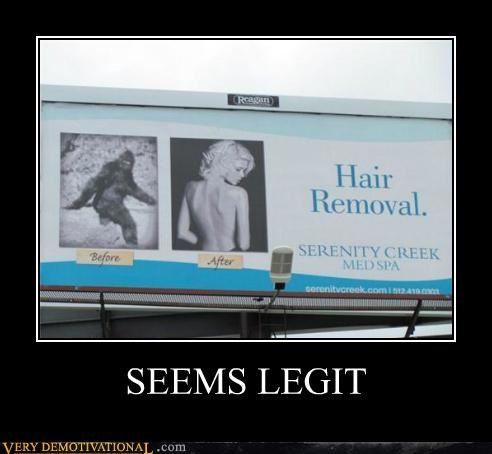 billiboard,hair removal,hilarious,sign