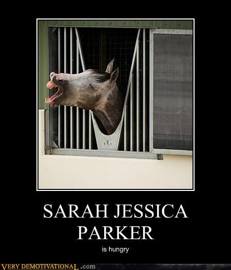 Hall of Fame hilarious horse hungry SJP wtf