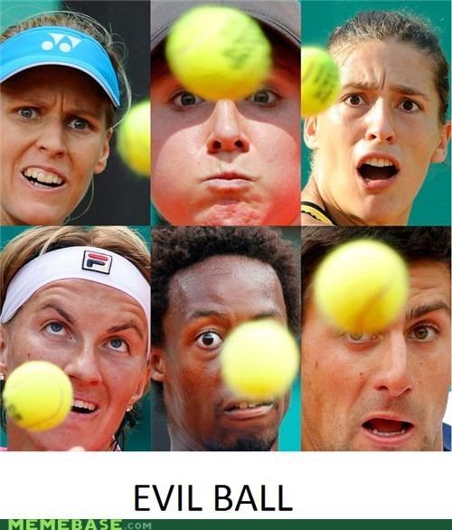 best of week derp evil tennis tennis ball