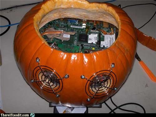 computer case Hall of Fame halloween pumpkins - 5378517504