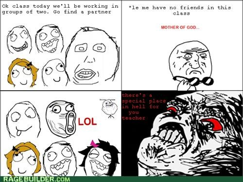 groups,mother of god,Rage Comics,teacher