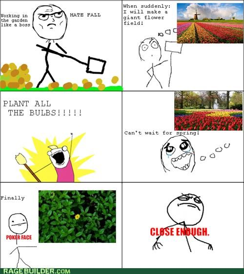 all the things,bulbs,garden,Rage Comics