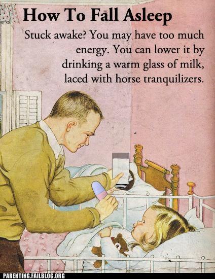 baby guide Parenting Fail retro sleep - 5379331840