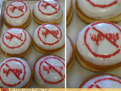 donuts,garlic,nasty,vampires