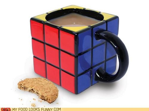 best of the week ceramic coffee cup mug rubix cube - 5379380992