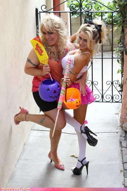 costume,Courtney Stodden,funny,halloween,wtf