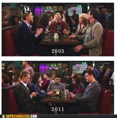 how i met your mother screencap social television TV - 5379533568