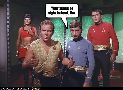 Captain Kirk james doohan Leonard Nimoy McCoy Nichelle Nichols scotty Shatnerday Star Trek uhura William Shatner - 5379568640