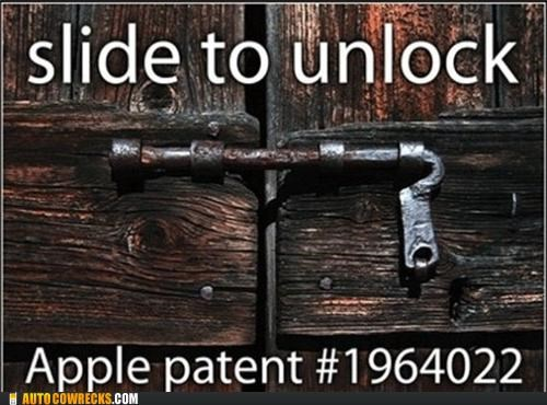 apple,patent,slide to unlock