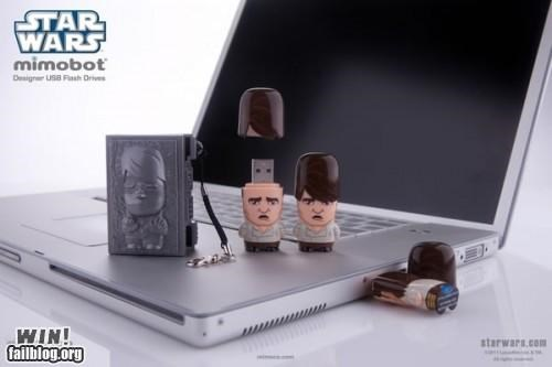 carbonite,flash drive,Han Solo,memory,nerdagsm,star wars,usb drive