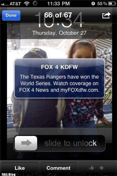 baseball,g rated,mobile,Probably bad News,sports,the world series,too soon,update