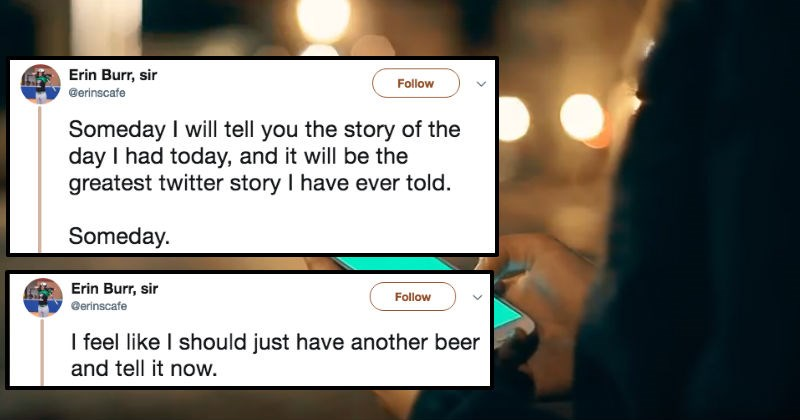 crazy twitter story