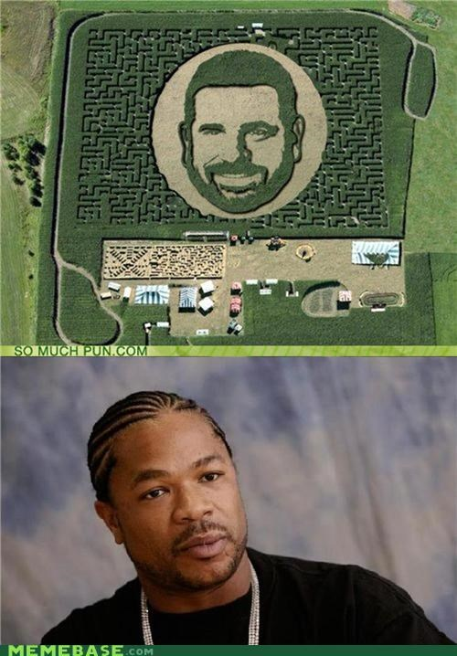 Billy Mays maize maze puns what yo dawg